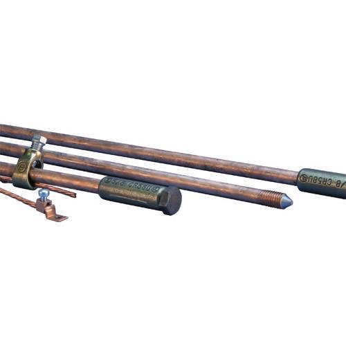 Erico/Eritech - Erico / Eritech 635837 Grounding Rod Kit - NSN 5975-00-878-3791