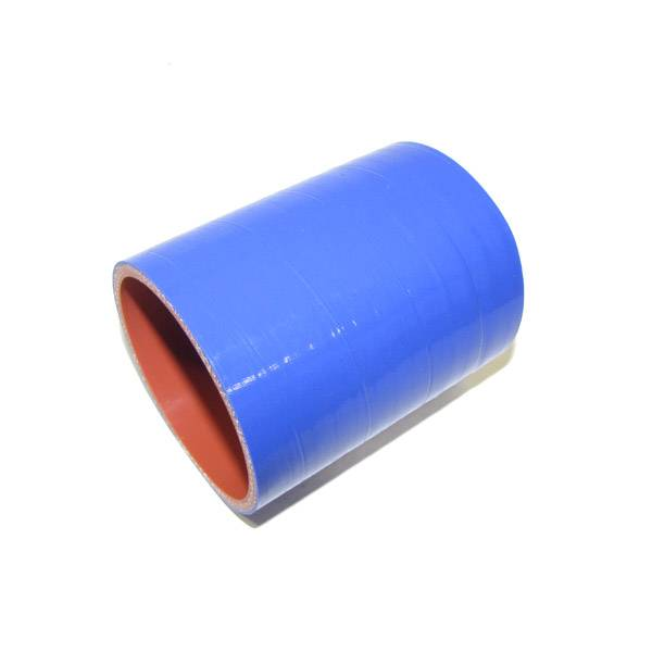"""Rattlin' Truck and Tractor - 3.00"""" ID X 4.00"""" L, 4 Ply Silicone IC Hose - Blue"""