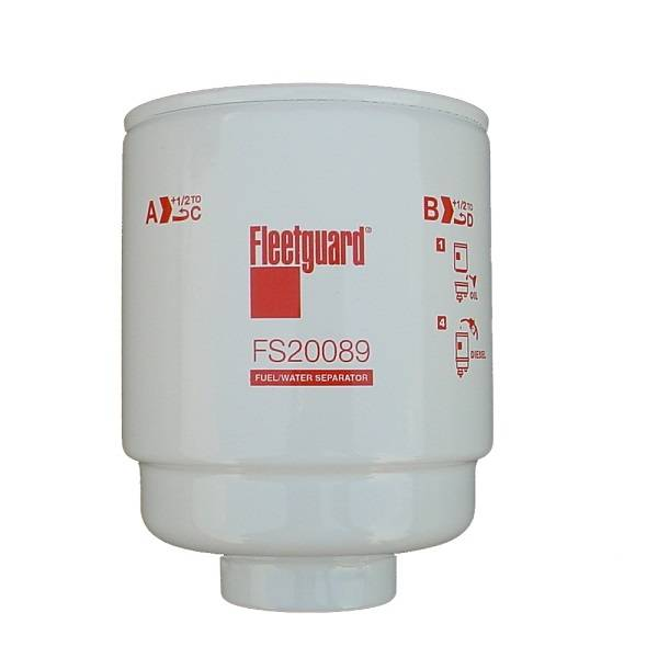 Fleetguard - '13-'18 Fleetguard FS20089 Primary Fuel Water Separator Filter