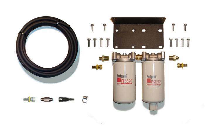 Rattlin' Truck and Tractor - 2008-2018 Dodge Ram Cummins Twin Filter System