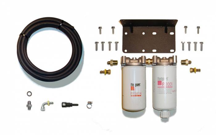 Rattlin' Truck and Tractor - 2005-2007 Dodge Ram Severe Service Twin Filter System