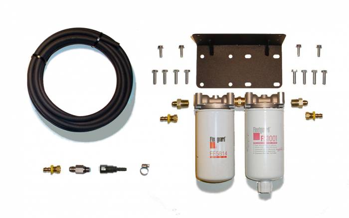 Rattlin' Truck and Tractor - 2008-2018 Dodge Ram Severe Service Twin Filter System
