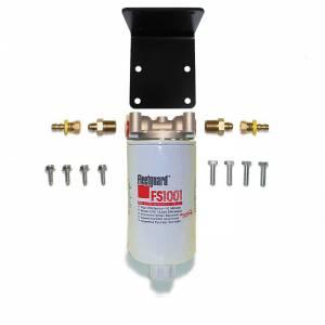 Universal Inline 10 mic FS1001 F/W Separator Filter
