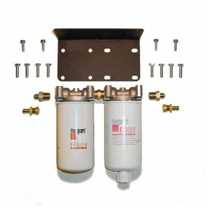 Universal Severe Service Twin Filter Kit (3 Mic Fuel & 10 Mic F/W Separator Combo)