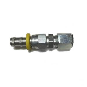 """Parker 1/2"""" Compression to 1/2"""" Push-Lok Adapter (steel)"""
