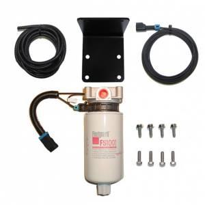 Universal Inline Heated 10 mic FS1001 F/W Separator Filter