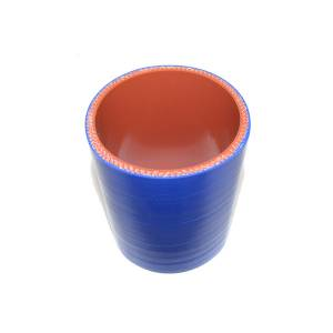 """Rattlin' Truck and Tractor - 3.00"""" ID X 4.00"""" L, 4 Ply Silicone IC Hose - Blue - Image 2"""